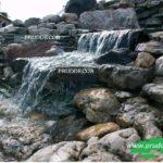 Искусственный водоём с карпами Коя