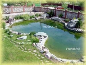 Построить искусственный пруд в Подмосковье