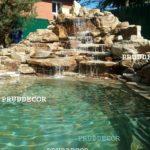 Водопад и купель в Подмосковье
